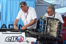 Portimao-Portugal-May 18, 2018-Technical Scrutineering for the UIM F1 H2O Grand Prix of Portugal - Algarve on Rio Arade. Picture by Vittorio Ubertone/Idea Marketing - copyright free editorial