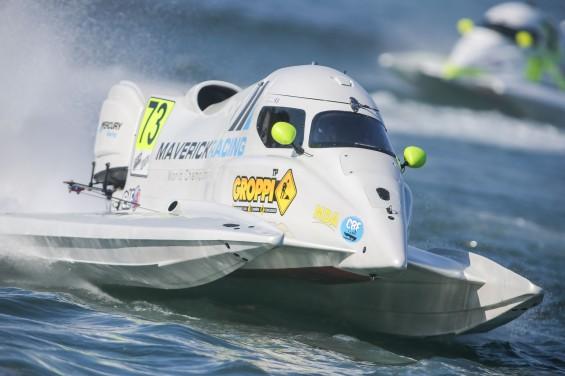 UIM F1H2O Grand Prix of Portugal - Portimao Portugal , 18-20 may 2018, Cedric Deguisne (73), Maverick F1 Photo:Simon Palfrader© Editorial use only