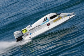 UIM F1H2O Grand Prix of France - Evian, 29-30 june - 1 july, 2018 Photo:Simon Palfrader© Editorial use only