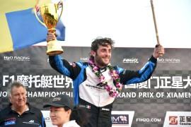 UIM F1H2O World Championship-Censtar Grand Prix of Xiamen-China-October 18-19, 2019-Alex Carella of Italy of Maverick Racing-Photo: Vittorio Ubertone-Editorial use only.