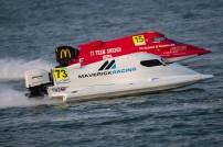 UIM F1H2O World Championship - Censtar Grand Prix of Xiamen - China - October 18-19 , 2019 - Cedric Deguisne (73), Maverick F1 - FRA - Race Photo:Simon Palfrader© - Editorial use only