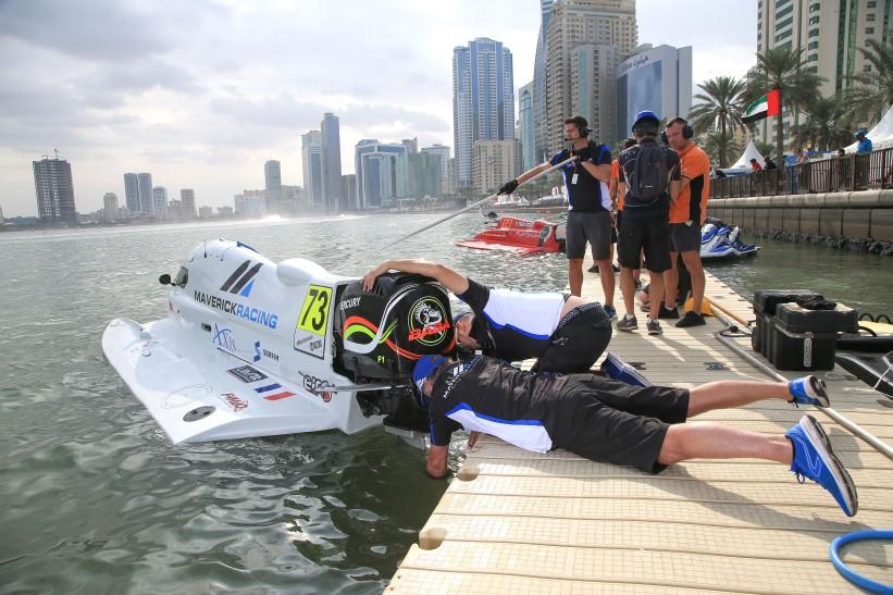UIM F1H2O World Championship - Grand Prix of Sharjah - Sharjah UAE - December 19 to 21 , 2019 Photo:Simon Palfrader© Editorial use only