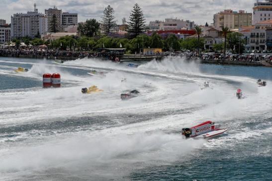 UIM F1H2O World Championship - Grand Prix of Portugal - Portimao - May 17-19, 2019 Photo:Simon Palfrader© Editorial use only